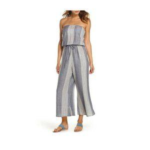 Elan Strapless Jumpsuit - Size L